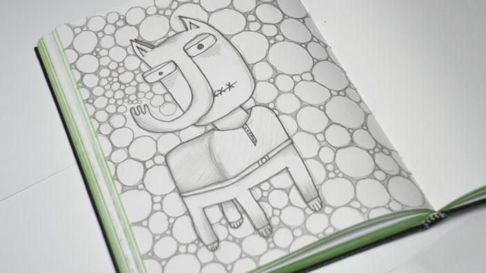 Illustration Seepferdchen Pferd