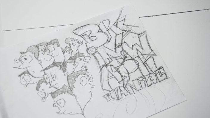 Illustration Brainwashed Maniacs