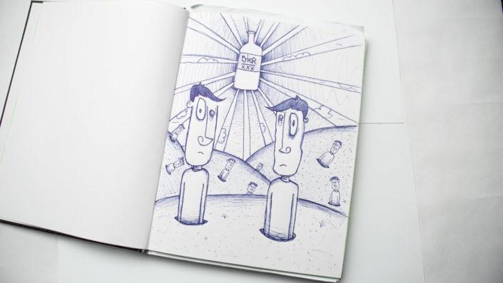 Illustration Biergott
