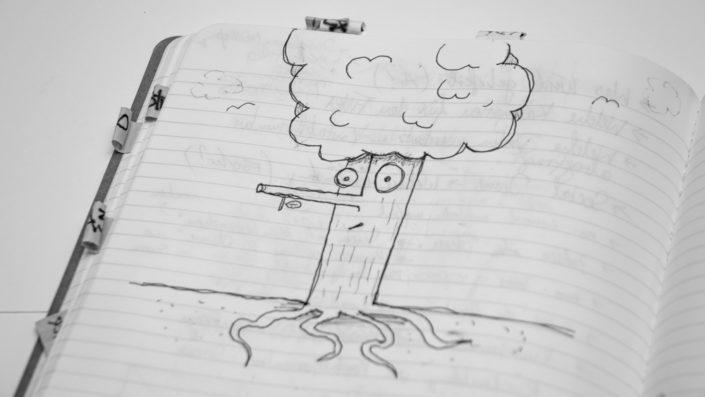 Illustration Herr Baum