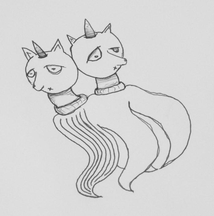 Illustration Einhorn Quale